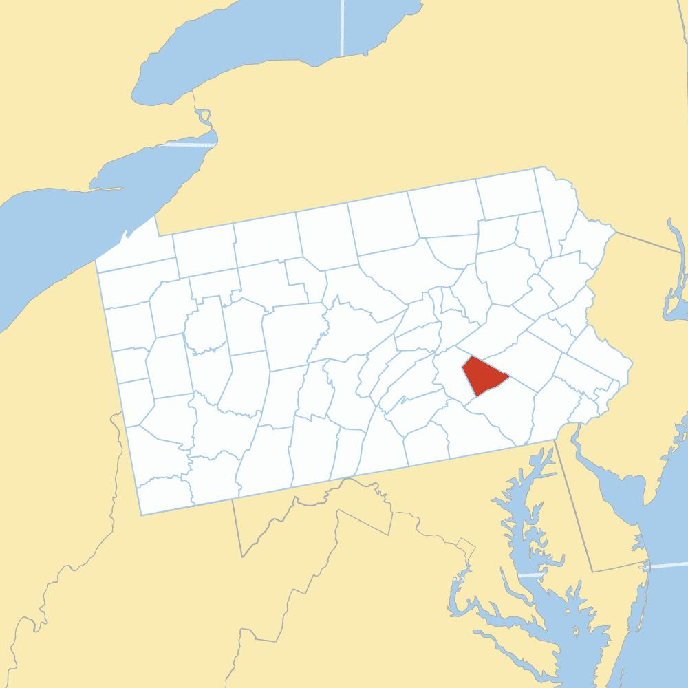 Lehigh County map