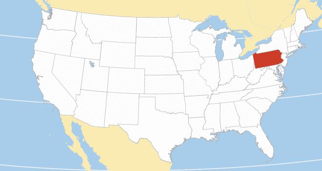 Pennsylvania area code